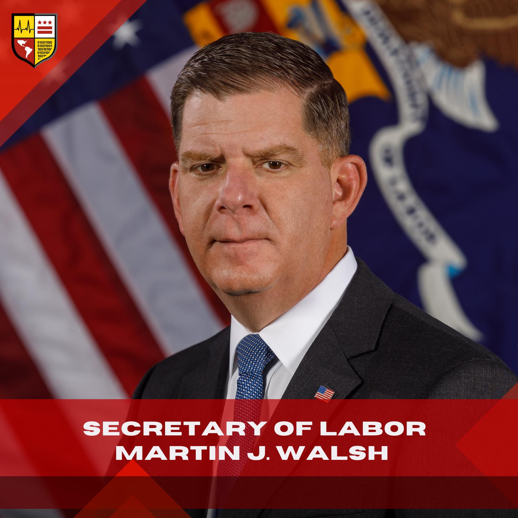 US Labor Secretary Martin Walsh Visits LAYC Career Academy